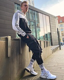 Guy in adidas