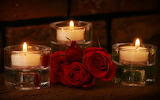 #Red Roses & Candles