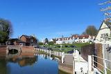 Finchingfield brook reflection
