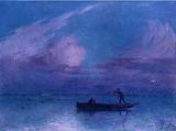 Night Time Boat Ride at Briere, Ferdinand du Puigaudeau