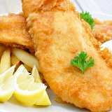 ^ Fish and Chips for lunch