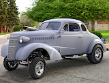 Chevy drag car 1938