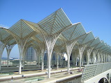 Gare do Oriente in Portugal