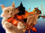 ☺♥ If music be the food of love, play on...