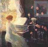 Childe Hassam, The Sonata, unknown