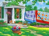 John Sloane-painting-quilts