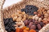 healthy food-dried fruits & nuts