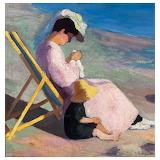 Henri Manguin, Figures sur la plage, 1902