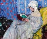Reading~ Ulisse Caputo Italian, 1872-1948