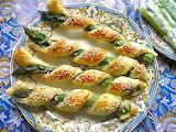 ^ Asparagus appetizers