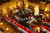 Prague, Christmas market 2, Cz