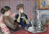 Five O'Clock Tea - Mary Cassatt