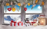 Christmas Window Gifts Snowmen 537367 1280x799