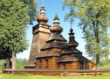 Carpathian architecture Cerkiew św. Paraskewy w Kwiatoni