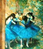 #Mazurka by Edgar Degas