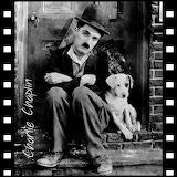 Charlie Chaplin and Dog