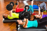 Girl-man-woman-weights-dumbbells-fitness-gym