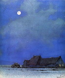 "art tumblr campsis ""Anton Pieck"" ""Moonlit Night"" 1951\.jpg"