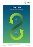 "Space ESA Poster ""Clean Space"" ""© ESA"""