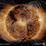 """Space NASA """"Sun's Magnetic Field"""" """"Solar Dynamics Observatory (S"""