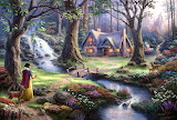 The cottage in the forest
