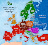Merry Christmas European Languages