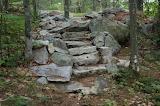 Mile 1746 Moose Mountain Stairs
