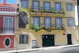 Lisboa, casa de Amalia Rodrigues, Portugal