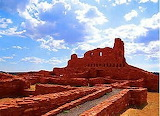 Native American Ruins Soccoro NM