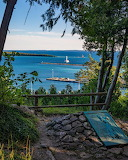 Mackinac Island Annes Tablet by Sara Wright