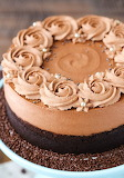 Guinness chocolate mousse cake