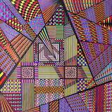 graph-paper art