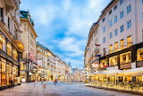 The Graben Shopping Street, Vienna