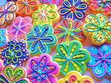 #Cookie Flowers