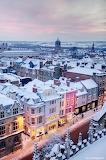 Winter streetscape