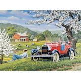 Farm springtime
