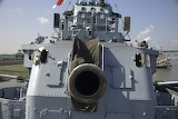 USS KIDD Gun Barrel