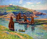 Low Tide by Henri Moret 1907