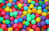 COLORFUL BALLS