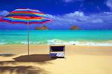 Tropical Oasis at Lani Kai Beach, Oahu, Hawaii