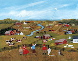 March Kites~ Mary Singleton