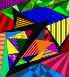 abstract lineart color