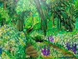 Irish Woods in Spring