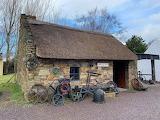 Old blacksmith forge