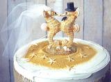 Seahorse wedding