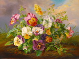 ☺ Flower painting...