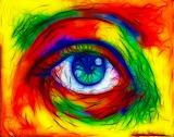 Rainbow Eye...