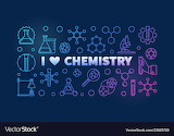 I-love-chemistry-colored-banner-chemical-vector-23625720