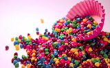 Colorful candys-wide