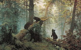 """Ivan Shishkin """" Morning in the pine forest"""""""